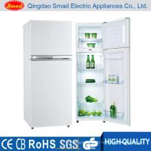 Réfrigérateur de double porte pour l'usage à la maison, réfrigérateur à la maison, réfrigérateur de dessus de bâti