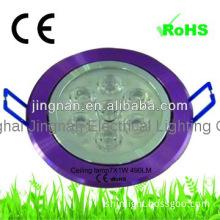 Energy saving smart led ceiling downlight 8.5w 490lm