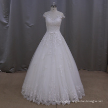 Traditional Lace A-Line Wedding Dress Bridal Gown