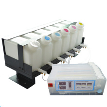 Roland Continuous Ink Supply System CISS 6 Ink Barrels with 6 Ink Cartridge