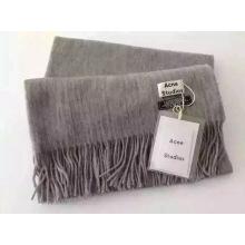 Bufanda de lana de varios colores sólida