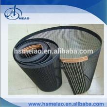 Black Corrosion resistance PTFE fiberglass mesh conveyor belt