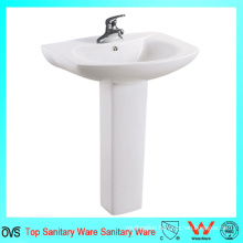 Popular Bathroom Sinks Ceramic Hand Wash Pedestal Basin
