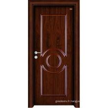 Porte intérieure en bois (LTS-111)