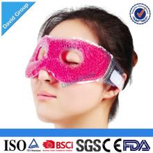 Sommeil drôle et masque protecteur d'oeil de gel de voyage