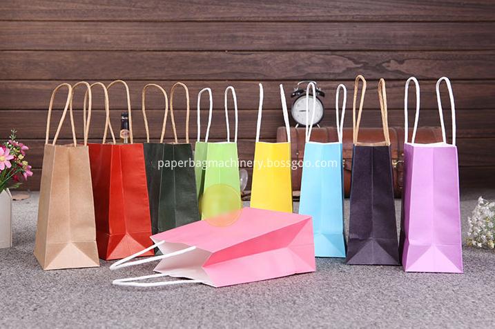 colorful paper bag kraft 2