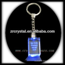 laser etched crystal keychain and blank crystal G062