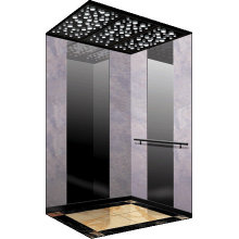 Luxury decorate mirror etching passenger elevator