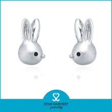 Charming Animal Shaped Sterling Silver Earrings Findings (E-0220)