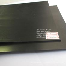 Geomembrana negra, blanca del HDPE, trazador de líneas impermeable de la geomembrana