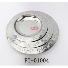 Stainless Steel Restaurant Serving Tray (FT-01004)
