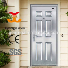 Portes de maison en acier inoxydable 304