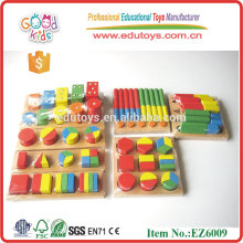 Wooden shape puzzle - Teaching Aids