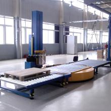 Solução de empacotamento automática da máquina do envoltório do estiramento da pálete