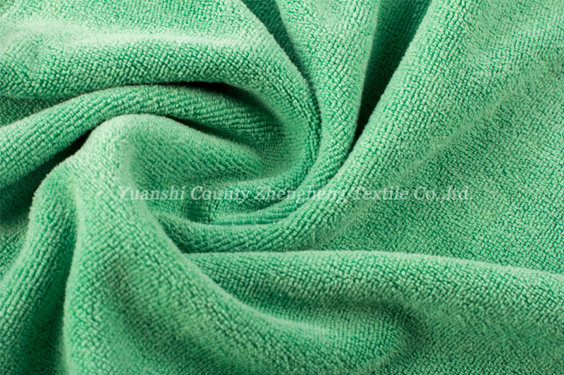 Weft Knitting Microfiber Towel-016