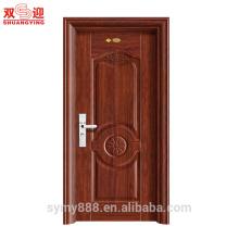 Новый Дизайн Стальной Двери Один Лист Безопасности Дверь Стальная Дверь