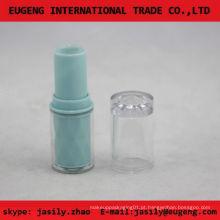 Tubo redondo plástico redondo do bálsamo do mini do diodo emissor de luz