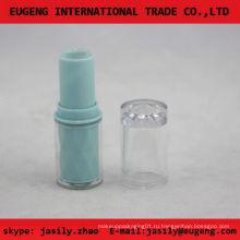Прозрачная пластиковая круглая мини бальзам для губ