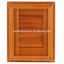 Cortinas ajustables de la persiana de la puerta clásica del cedro rojo natural de la plantación