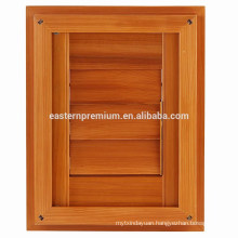 Classic Natural Red Cedar Plantation Adjustable Door Louver Shutters
