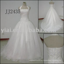 2011 Latest Most Stunning novo real de chegada de alta qualidade cristal pedras bola stylerystal enfeitado vestidos de noiva 2011 JJ2435