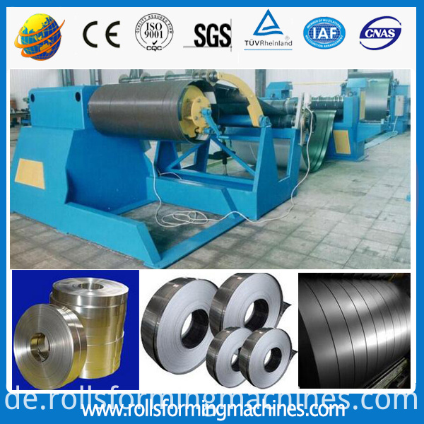 slitting machine line cut to length machine sheet separate machine