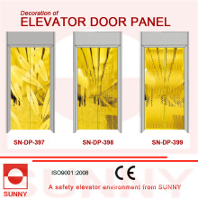 St. St Golden Door Panel pour la décoration de cabine d'ascenseur (SN-DP-397)