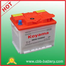 DIN60 Dry Charged Starter Battery -12V60ah (56030)