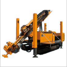 Hydraulic gyrator anchoring engineering drilling rig