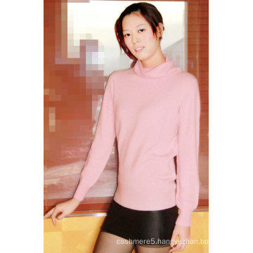Women′s Cashmere Solid Plain Pullover