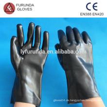 12 Zoll pvc Arbeitshandschuh mit glatter Oberfläche