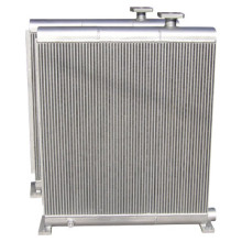 Refrigerador de aceite para compresor de pistones