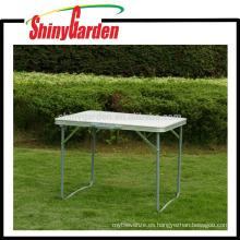 Mesa plegable de picnic al aire libre para acampar