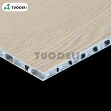 Panel de nido de abeja de aluminio PVDF / PE