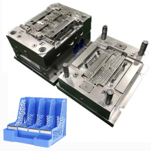 custom office desktop bookshelf file box sorting rack plastic injection molding service files storage mold