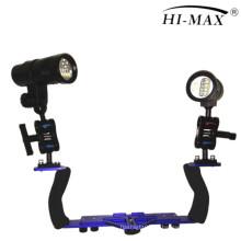 Sistema impermeable impermeable de la iluminación de la luz video para el héroe 2 3 3+ 4 de GoPro
