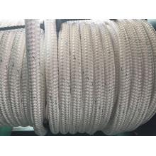 La fibra química de la trenza doble rope la cuerda de PE de la cuerda del poliéster de la cuerda de los PP de la cuerda del amarre