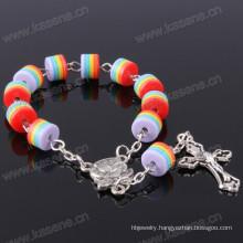 Handmade Jesus Rosary Bracelet Resin Crafts