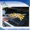 Tapis de grillage à 2 pièces non réutilisables réutilisables - Frein à cuire libre, micro-ondes et lave-vaisselle
