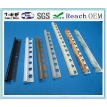 ПВХ-отделка плитка, пластиковая окантовка планки