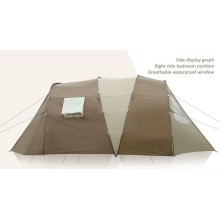 2018 New Product Two Rooms Hiking Tent