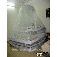 Barraca de dossel circular nova mosquiteira de estilo para cama king size