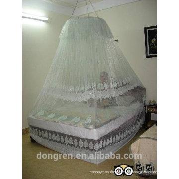 Круглая тент палатка новый стиль противомоскитная сетка для двуспальной кровати