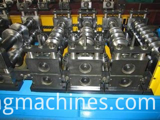 Z shaped purlin cold roll forming machine