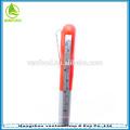 2 in1 stylo promotionnel en plastique, ruban à mesurer stylo, stylo à bille twist