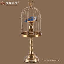 бронзовый цвет утюг вольеры для птиц и висеть и стоять птичьи клетки для домашнего интерьера декор