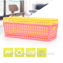 Eco-friendly wholesale hight quality durable basket storage with handle