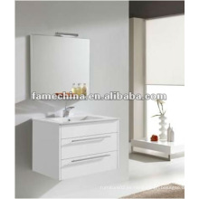 Hangzhou pared blanco baño de brillo gabinete / vanidad / muebles de pintura brillante