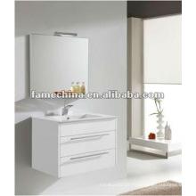 Hangzhou parede branco brilhante banheiro armário / vaidade / mobiliário brilhante pintura