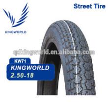 Radial 18 Rua moto pneus 2.50-18